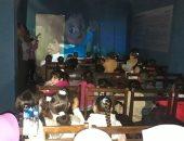 شاهد.. أطفال مدارس المنيا يقبلون على فعاليات برنامج سينما الأطفال بمتحف ملوى