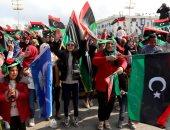 استمرار الاحتفال بالذكرى الـ9 للثورة بميدان الشهداء فى ليبيا