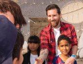 عشاق برشلونة يستقبلون ليونيل ميسي في فعاليات أكسبو 2020 بدبي