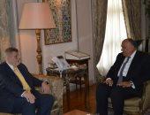 وزير الخارجية يبحث مع المنسق الأممى للبنان آخر المستجدات والأوضاع فى المنطقة