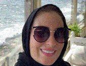 نرمين الفقى بالحجاب بعد انتهائها من مناسك العمرة.. صور