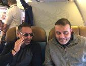 حازم إمام وسيف زاهر يتوجهان للإمارات لحضور السوبر