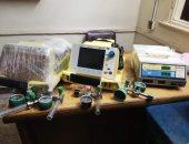 جمارك السويس تضبط محاولة تهريب عدد من الأجهزة والمستلزمات الطبية