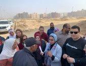 رئيس جهاز القاهرة الجديدة يوجه بالانتهاء من ظاهرة المواقف العشوائية بالمدينة