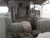 """فيديو.. """"دار الإمارة"""" مقر الحكم العباسى بمصر يغرق فى القمامة ومخلفات المدابغ"""