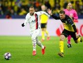 "دورتموند ضد باريس سان جيرمان.. هالاند يسجل هدفين ونيمار يحرز  ""فيديو"""