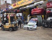 أهالى الإسماعيلية يطالبون بإزالة الإشغالات بشارع هدى شعراوى..وصور