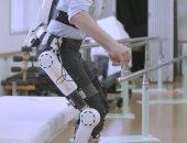 هيكل روبوتى ذكي لمساعدة المصابين بأمراض الجهاز العصبى للتحرك بشكل طبيعى