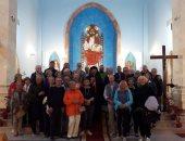 مطران الكاثوليك يصلى قداسًا بـ 3 لغات للأجانب فى كاتدرائية شرم الشيخ