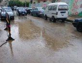 مرور القليوبية: سيولة مرورية بالطريق الحر والسريع وشفط مياه الأمطار بأنفاق بنها