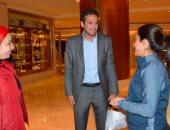 سحر عبد الحق تجتمع بمحترفات الكرة النسائية قبل سوبر الأهلى والزمالك