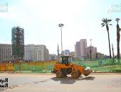 ميدان التحرير خطوة على الافتتاح.. مسلة و4 كباش ومنظومة إنارة لأول مرة
