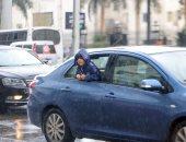 الغيوم تغطى سماء المحافظات .. وأمطار على مناطق متفرقة بالقاهرة والجيزة