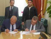 محافظة الوادي الجديد توقع بروتوكول تعاون مع الري لتشغيل 75 بئر بالطاقة الشمسية