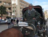 أقدم سائق حنطور في الغربية: المهنة تندثر ولم أتركها إلا بالموت