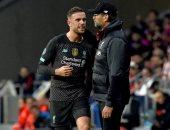 كلوب: هندرسون يغيب عن ليفربول لنهاية الموسم لكنه سيرفع كأس البريميرليج