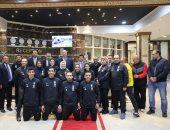 قبل السفر للمغرب.. وزير الرياضة يلتقى البعثة المصرية المشاركة ببطولة أفريقيا للتايكوندو
