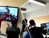 """مدير مدرسة """"فيديو الراقصة"""" و5 معلمين يوقعون بدفاتر الحضور رغم استبعادهم"""