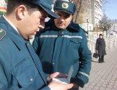 إصابة ٦٠ شخصا إثر تصدع فى سد بأوزباكستان جراء الأمطار والرياح
