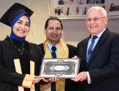 صور .. احتفالية تخرج أول دفعة لكلية الطب جامعة بورسعيد