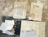 """صور.. العثور على مقر لداعش بسوريا.. يحتوى """"سجن التنظيم ووثائقه القضائية"""""""