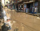 قارئ يناشد المسئولين سرعة التحرك لتصريف مياه الأمطار بشوارع أبو كبير
