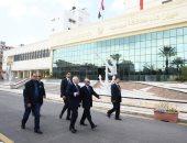 صور.. وزير العدل ومحافظ بورسعيد يتفقدان المركز التكنولوجى لخدمة المواطنين