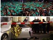 """صور.. العالم هذا الصباح.. مقتل 8 أشخاص وإصابة 5 فى إطلاق نار بمدينة هاناو الألمانية.. آلاف النساء يحتجن فى الأرجنتين لتقنين الإجهاض.. الرئيس الأمريكي """"ترامب"""" يعقد حملة انتخابية في مدينة فينيكس بولاية أريزونا"""