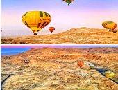 شركة بالون طائر بالأقصر تدعو السيدة الأمريكية المصابة بالسرطان لرحلة بعاصمة الحضارة الفرعونية