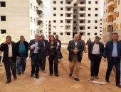 رئيس صندوق الإسكان الاجتماعى يطالب شركات المقاولات بسرعة الانتهاء من الوحدات