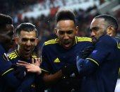 أرسنال يخطف أولمبياكوس ويقترب من ثمن نهائي الدوري الأوروبى.. فيديو
