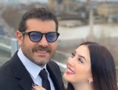 برسالة رومانسية.. كندة علوش تعلق على صورها مع عمرو يوسف: زوجى حبيبى وصديقى