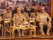 """الفريق محمد فريد يشهد المرحلة الرئيسية لمشروع """"بشير 21"""" بالجيش الثانى الميدانى"""