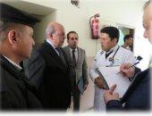 صور.. زيارات مفاجئة من حقوق الإنسان بالداخلية لأقسام الشرطة بالسويس