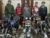 ضبط 3 عاطلين كونوا تشكيلا عصابيا لسرقة الدراجات البخارية في الشرقية