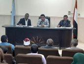 رئيس مدينة البياضة يناقش مشاكل المواطنين خلال فعليات لقاء اليوم المفتوح