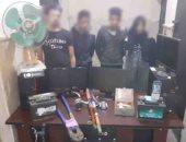 ضبط عصابة تسرق بطاريات السيارات والمحال التجارية بالإسماعيلية