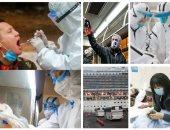 وصول بعثة منظمة الصحة لمدينة ووهان الصينية المتفشى بها فيروس كورونا