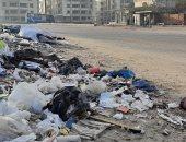 سيبها علينا.. شكوى من انتشار القمامة بحى النزهة فى مصر الجديدة