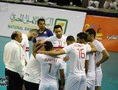 """""""صور"""".. """"الزمالك"""" يهزم بنى ياس الإماراتى فى البطولة العربية للطائرة"""
