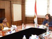 منسق برامج الاتحاد الأفريقي تدعو وزيرة التخطيط لمؤتمر التنمية في أفريقيا