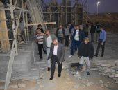 جولة لمساعد نائب وزير الإسكان بمدينة الشروق لمتابعة تنفيذ المشروعات