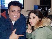 """إليسا تنتهى من تسجيل """"عظيمة"""" مع محمد رحيم ضمن أغانى ألبومها الجديد.. صور"""