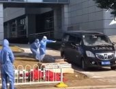 """فيديو يقطع القلب.. زوجة مدير مستشفى ووهان ضحية """"كورونا"""" تطارد سيارة الموتى"""