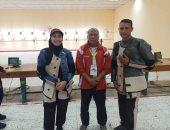 مصر تحصد ذهبية مختلط البندقية فى البطولة العربية للرماية