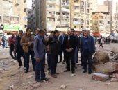 محافظ الجيزة يتفقد شوارع بولاق ويوجه بتوقيع غرامات ضد من يتلف الأرصفة