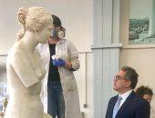 وزير السياحة يزور الأكروبول للاستفادة من خبرات اليونان فى حفظ الآثار
