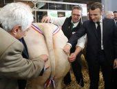 """الرئيس الفرنسي """"ماكرون"""" يفتتح المعرض الدولى للزراعة فى نسخته الـ 57"""