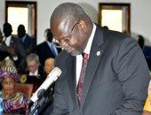 زعيم المتمردين السابق بجنوب السودان يؤدى اليمين نائبا أول لرئيس البلاد