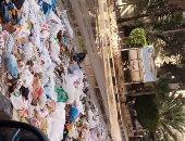 قارئة تشكو من انتشار القمامة بشارع 27 الرئيسى بالإسكندرية